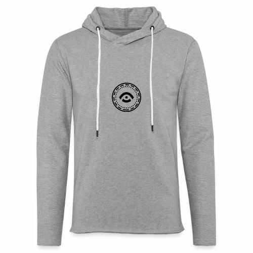 Circle Black - Light Unisex Sweatshirt Hoodie