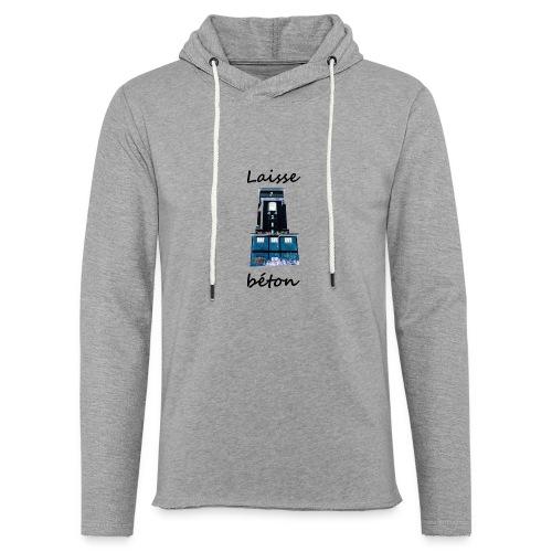 laisse_b--ton-png - Sweat-shirt à capuche léger unisexe
