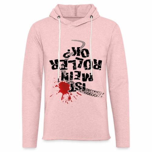 Ist mein Roller ok (schwarzer Text) - Light Unisex Sweatshirt Hoodie
