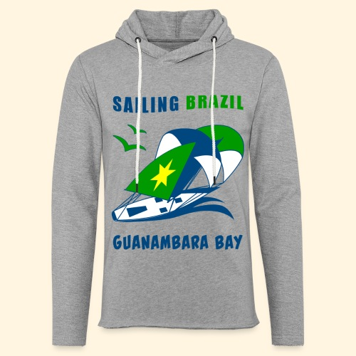 Sailing Brazil - Light Unisex Sweatshirt Hoodie