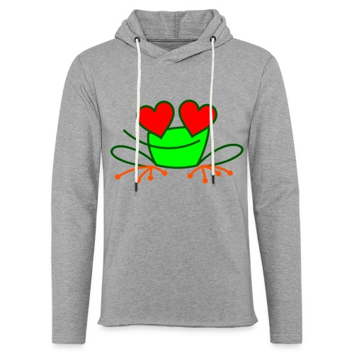 Frog in Love - Light Unisex Sweatshirt Hoodie