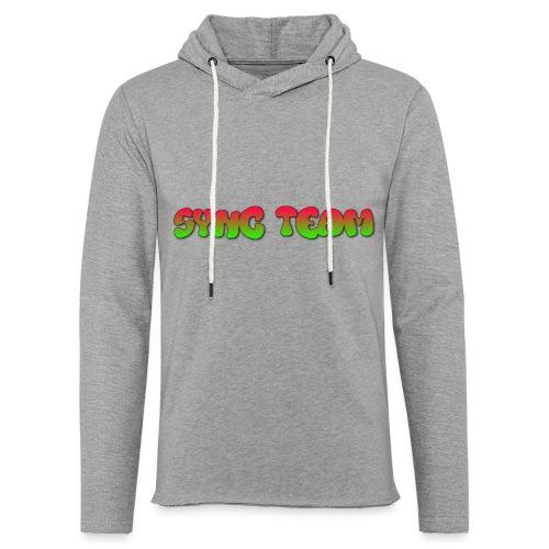 vêtement avec text SYNC TEAM - Sweat-shirt à capuche léger unisexe