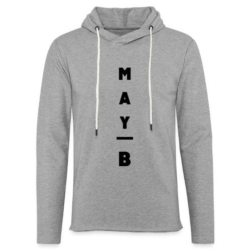 May-B Sleeve Design - Light Unisex Sweatshirt Hoodie