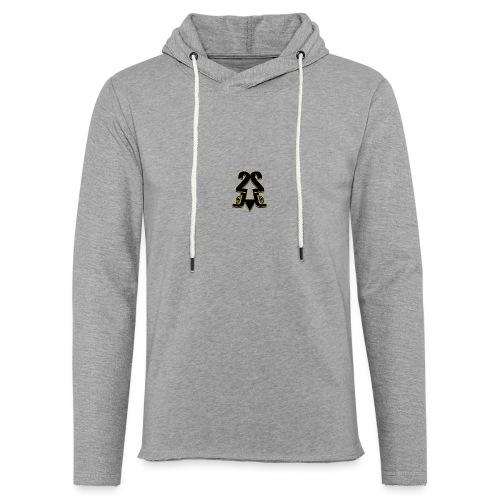2J logo - Let sweatshirt med hætte, unisex
