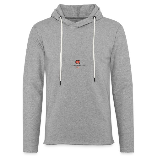 PlayForClub HD - Sweat-shirt à capuche léger unisexe