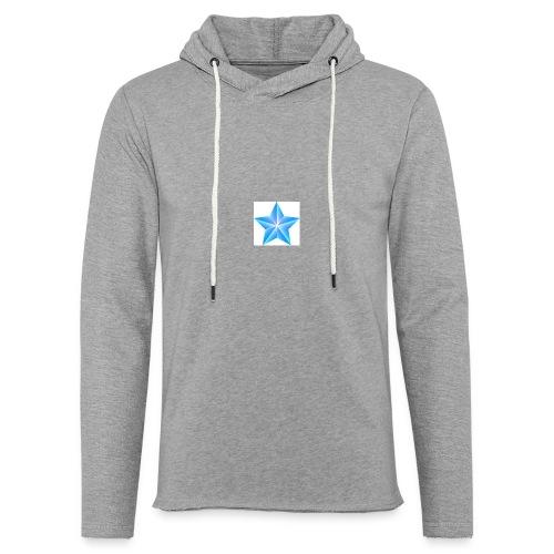 blue themed christmas star 0515 1012 0322 4634 SMU - Light Unisex Sweatshirt Hoodie