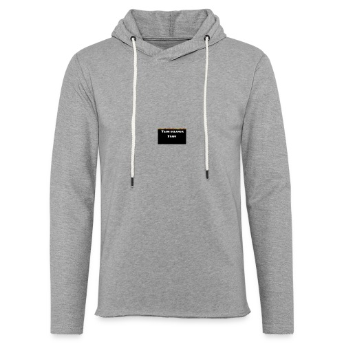 T-shirt staff Delanox - Sweat-shirt à capuche léger unisexe