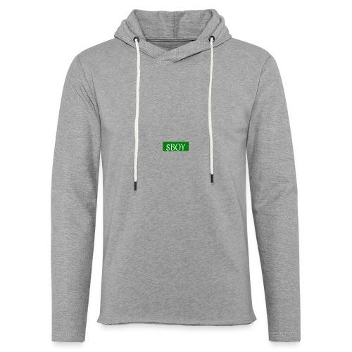 sboy logo - Sweat-shirt à capuche léger unisexe