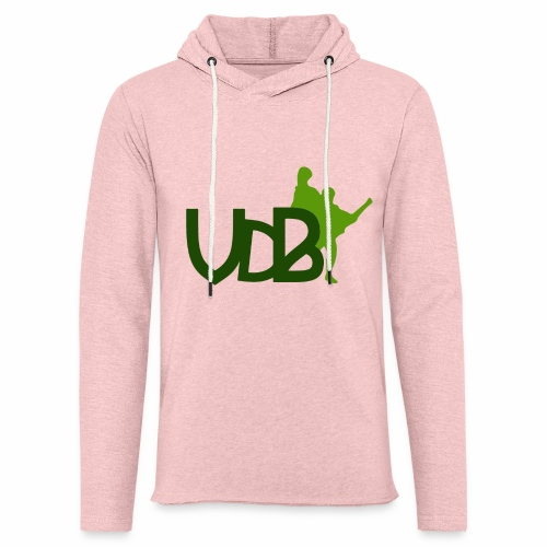 VdB green - Felpa con cappuccio leggera unisex