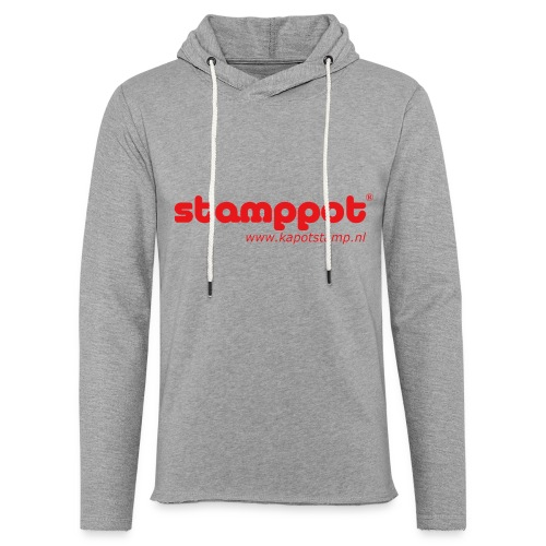 STAMPPOT - Lichte hoodie unisex