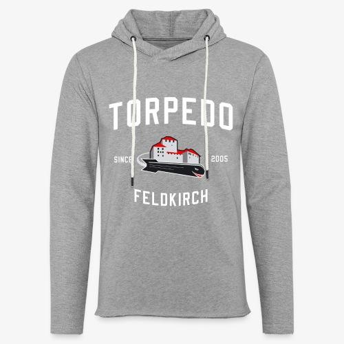 Torpedo Logo Alternativ - Leichtes Kapuzensweatshirt Unisex