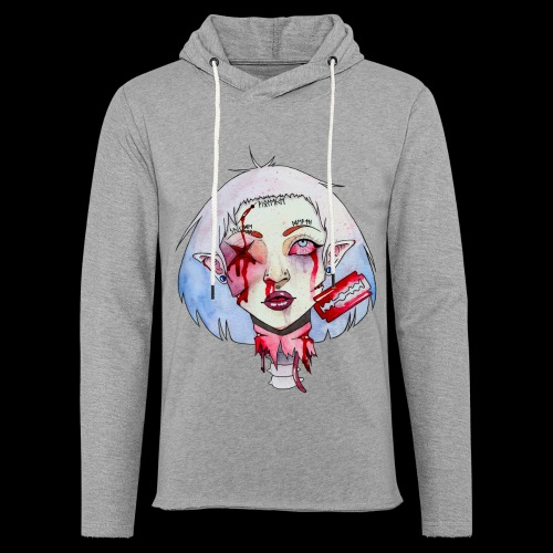 Violence - Sweat-shirt à capuche léger unisexe
