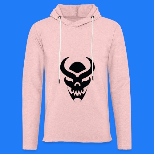 TRIBAL SKULL NOIR - Sweat-shirt à capuche léger unisexe