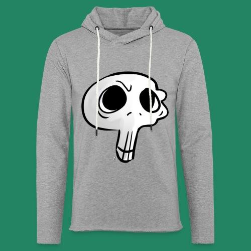 Skull - Sweat-shirt à capuche léger unisexe