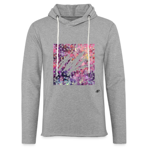 Pixl'ink by NSKdsign - Sweat-shirt à capuche léger unisexe