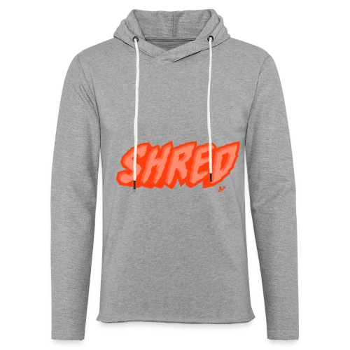 Shred - Leichtes Kapuzensweatshirt Unisex