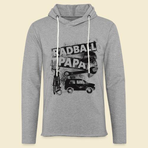 Radball   Papa - Leichtes Kapuzensweatshirt Unisex