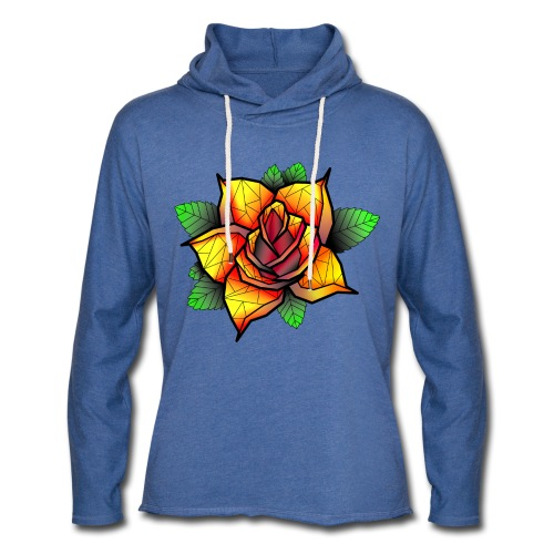 rose - Sweat-shirt à capuche léger unisexe