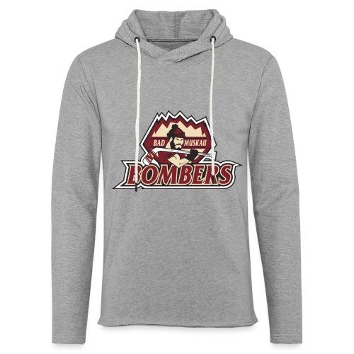 Logo Bombers - Leichtes Kapuzensweatshirt Unisex