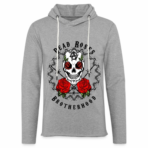 Dead Roses 2nd Logo - Light Unisex Sweatshirt Hoodie