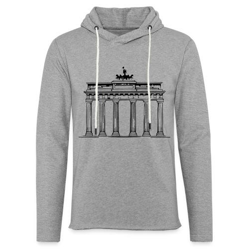 Brandenburger Tor Berlin Victoria Streitwagen - Leichtes Kapuzensweatshirt Unisex