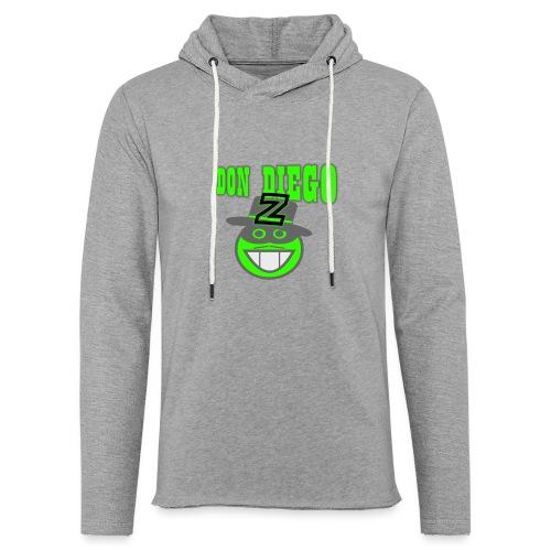 xts0381 - Sweat-shirt à capuche léger unisexe
