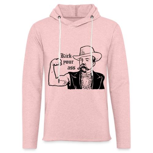 Kick Your Ass - Lichte hoodie unisex