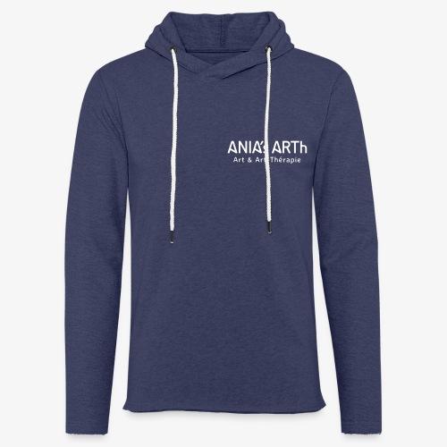 ANIA's ARTh Logo - Leichtes Kapuzensweatshirt Unisex