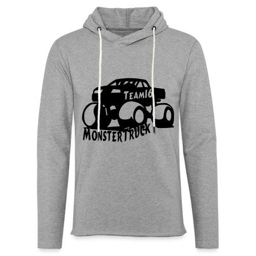 logo mtteam16 noir - Sweat-shirt à capuche léger unisexe