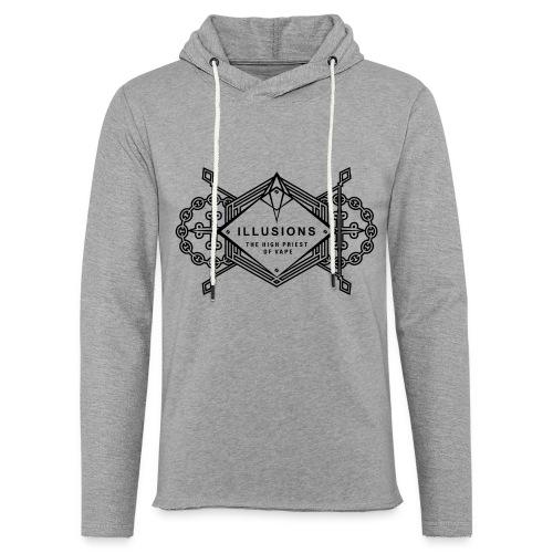 black crest - Leichtes Kapuzensweatshirt Unisex
