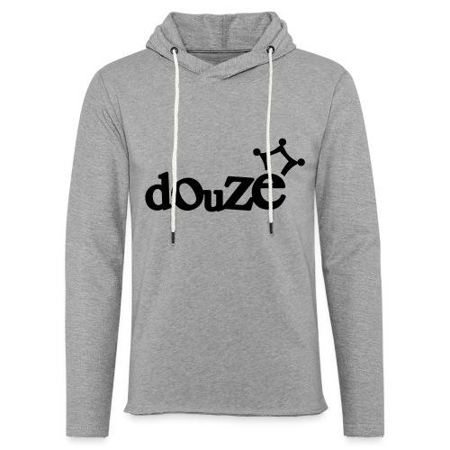 logo_douze - Sweat-shirt à capuche léger unisexe