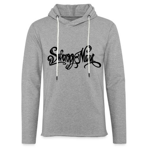 Swagg Man logo - Sweat-shirt à capuche léger unisexe