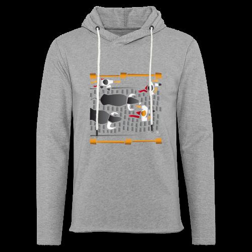 El encierro - Sudadera ligera unisex con capucha