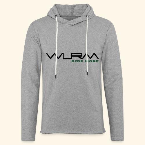 WLRM Schriftzug black png - Leichtes Kapuzensweatshirt Unisex