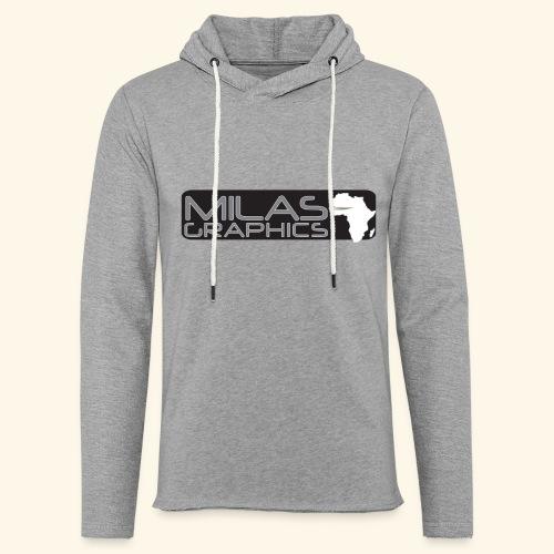 Milas Graphics Africa - Sweat-shirt à capuche léger unisexe