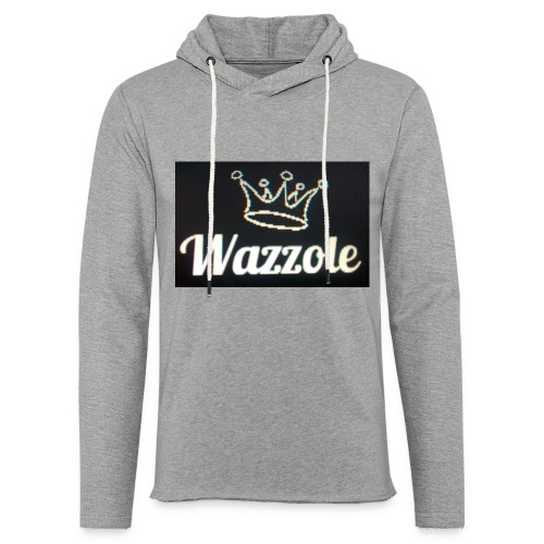 Wazzole crown range - Light Unisex Sweatshirt Hoodie
