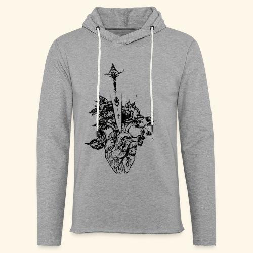 la nature du coeur - Sweat-shirt à capuche léger unisexe