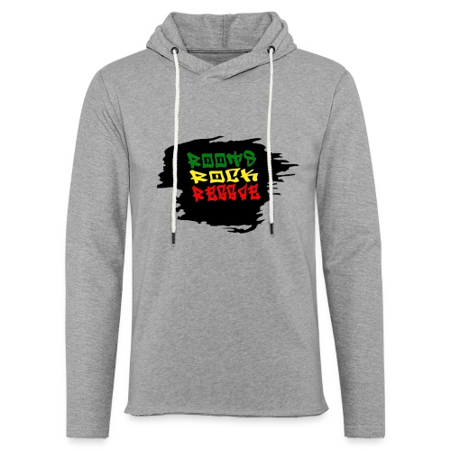 roots rock reggae - Sweat-shirt à capuche léger unisexe