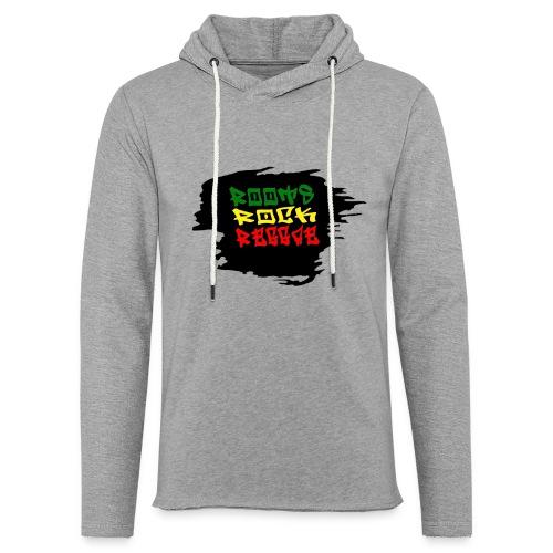roots rock reggae - Sweat-shirt à capuche léger unisexe