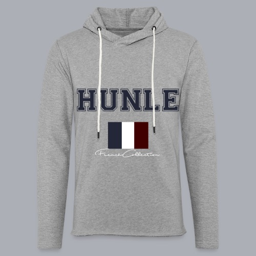 hunle French Collection n°1 - Sweat-shirt à capuche léger unisexe