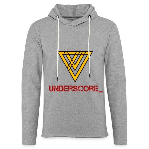 Underscore Yellow Red - Light Unisex Sweatshirt Hoodie