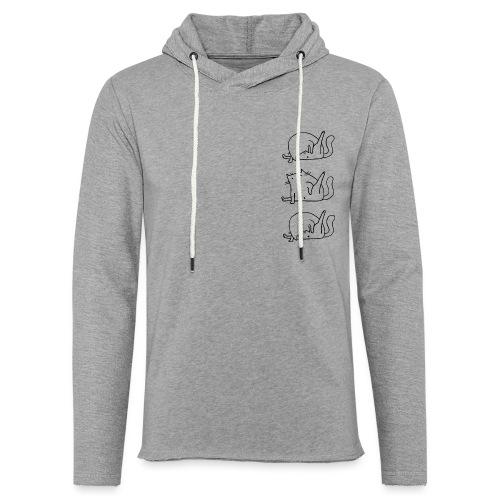 3 Cats - Leichtes Kapuzensweatshirt Unisex