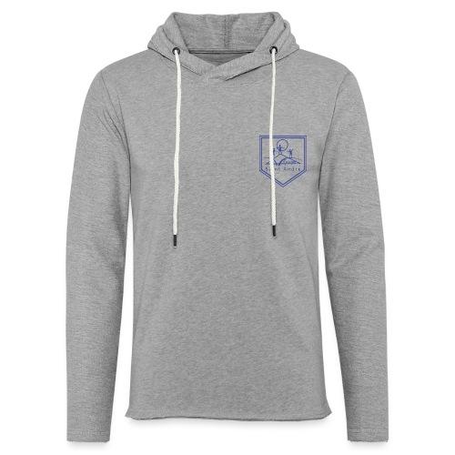 Blason bleu - Sweat-shirt à capuche léger unisexe