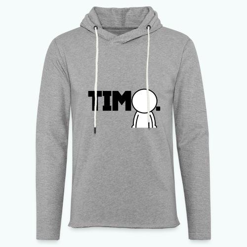 Design met ventje - Lichte hoodie unisex