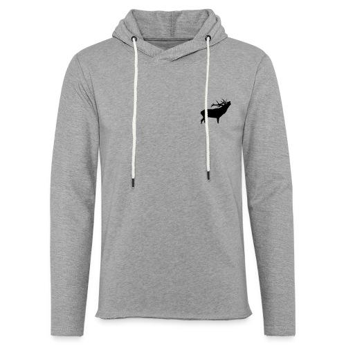 cerf - Sweat-shirt à capuche léger unisexe