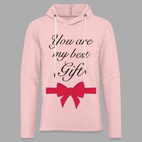 you are my best gift - Light Unisex Sweatshirt Hoodie