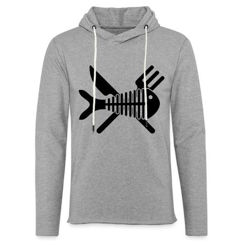 Poisson couvert - Sweat-shirt à capuche léger unisexe