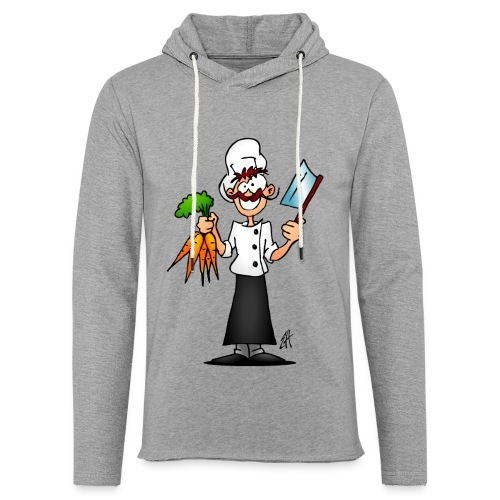 The vegetarian chef - Light Unisex Sweatshirt Hoodie