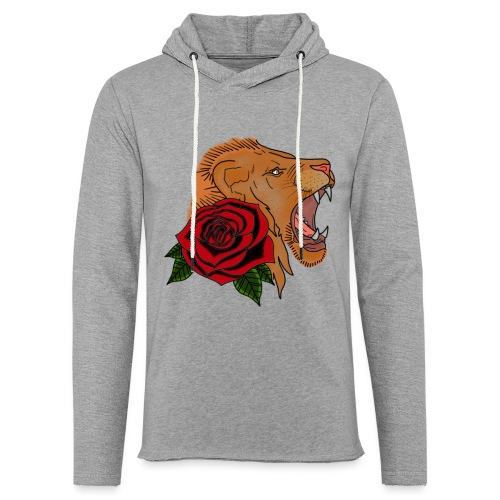 Lion - Sweat-shirt à capuche léger unisexe