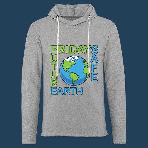Safe Our Earth - Leichtes Kapuzensweatshirt Unisex